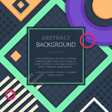 Abstract Notice Board Cover Background Design Stock Image