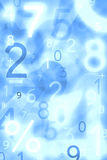 Abstract numbers. Use for background or texture Stock Photo