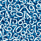 Abstract numbers. Use for background or texture Stock Photos