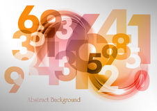 Abstract numbers Stock Photos