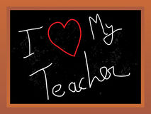 Abstract_object_on_teachers_day. Abstract vector illustration on the teachers day theme with black board Royalty Free Illustration