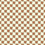 Abstract objects beautiful seamless pattern on a light background Stock Photos