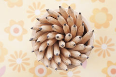 Abstract objects still life.pencils Stock Image