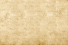 Abstract ocher background. Old paper texture, blank Royalty Free Stock Images