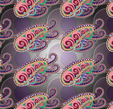 Abstract octopus seamless texture. Abstract figure of an octopus with tentacles Stock Photo