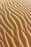 Abstract Of Rippled Sand Dunes Stock Photo