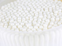 Abstract off-white cotton ball for background Royalty Free Stock Image