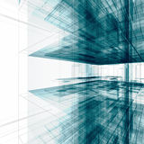 Abstract office building Stock Photos