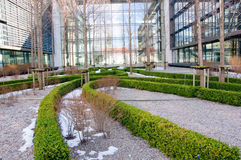 Abstract office buildings royalty free stock photos