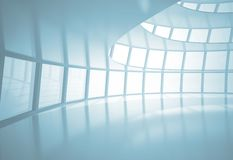 Abstract office hall Royalty Free Stock Photos
