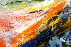 Abstract oil Stock Photo
