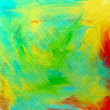 Abstract oil on canvas. Stock Images