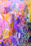 Abstract Oil on Canvas Royalty Free Stock Photos
