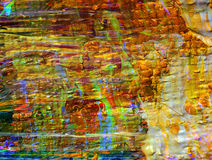 Abstract Oil On Canvas Stock Image