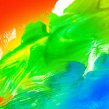 Abstract oil color. Color conversions. Royalty Free Stock Image