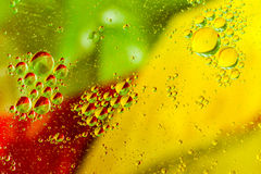 Abstract Oil Droplets Stock Image