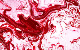 Abstract oil paint strokes on canvas. Seamless abstract  background with multicolored spatter, accretions, stains and spots. Digital painted marble imitation Stock Images