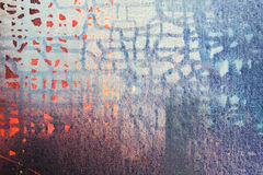Abstract oil painted texture on canvas royalty free stock photo