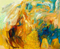 Free Abstract Oil Painting Stock Photos - 26046933