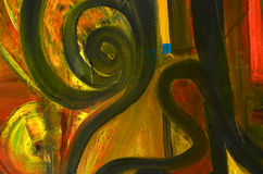Abstract oil painting Royalty Free Stock Image