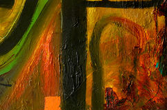 Abstract oil painting Royalty Free Stock Photography