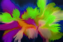 Abstract oil painting background. Colorful digital illustration.  Royalty Free Stock Images