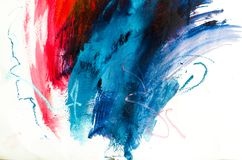 Abstract oil painting background. Oil on canvas texture. Hand dr royalty free stock images