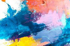 Abstract oil painting background. Oil on canvas texture. Hand dr stock photos