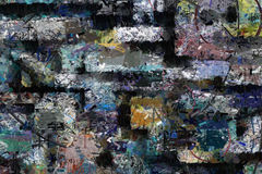 Abstract oil painting canvas Royalty Free Stock Photos