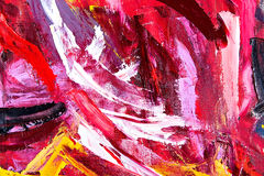 Abstract oil painting fragment Royalty Free Stock Photo