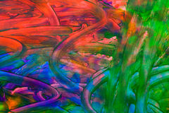 Abstract oil painting Stock Photo