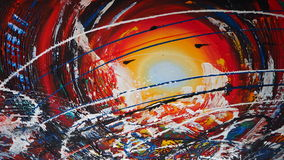 Abstract oil painting Stock Photos