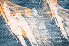 Abstract oil painting texture wallpaper. Abstract oil painting background with brush strokes on canvas texture. Art concept royalty free illustration
