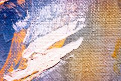 Abstract oil painting texture wallpaper. Close up of abstract oil painting on canvas texture wallpaper with brush strokes. Oil painting on canvas. Scratched wall vector illustration