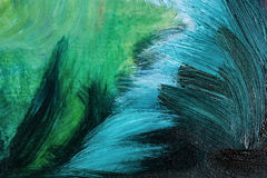 Abstract oil paints Royalty Free Stock Photos
