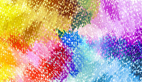 Abstract oil pastel painted background. Stock Photo