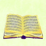 Abstract old book Royalty Free Stock Photo