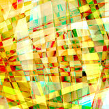 Abstract old chaotic pattern with curved lines Royalty Free Stock Photography