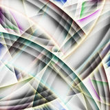 Abstract old chaotic pattern with colorful translucent Stock Image