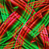 Abstract old chaotic pattern with colorful translucent lines Royalty Free Stock Image