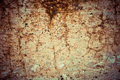 Abstract old color grunge wall. Background Stock Photos