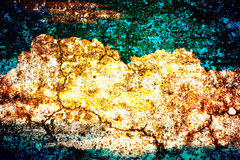 Abstract old color grunge wall. Background stock illustration