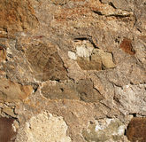 Abstract old colorful stone wall as background Royalty Free Stock Photography