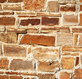 Abstract old colorful stone wall as background Royalty Free Stock Images