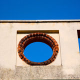 Abstract old column in the  country  of europe italy and marble Stock Images