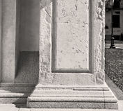 abstract old column in the  country  of europe italy and marble Stock Image