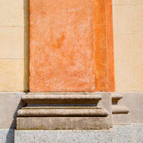 abstract old column vv in the  country  of europe italy and marble Royalty Free Stock Image