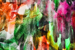 Abstract old drawing paper handmade background Stock Images