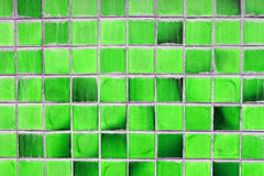 Abstract old green square background Stock Images