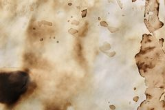 Abstract old grunge paper background royalty free stock photo